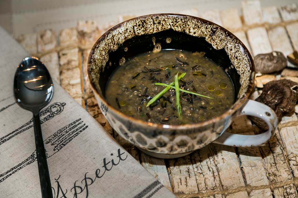 Canadian Wild Rice & Mushroom